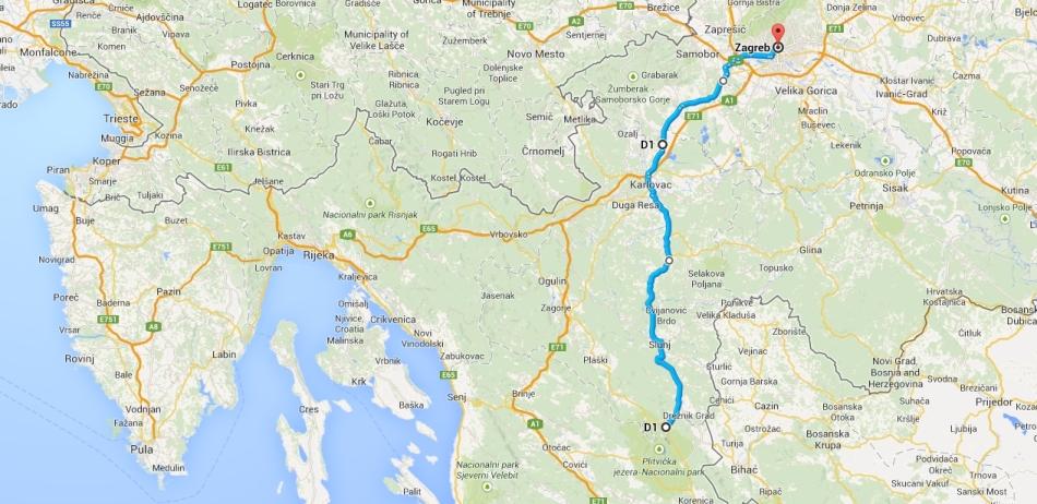 Plitvice to Zagreb
